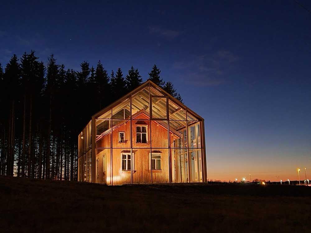 Foto av Vang-huset