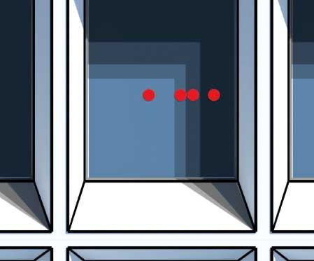 Illustrasjon av sensorer på vindu
