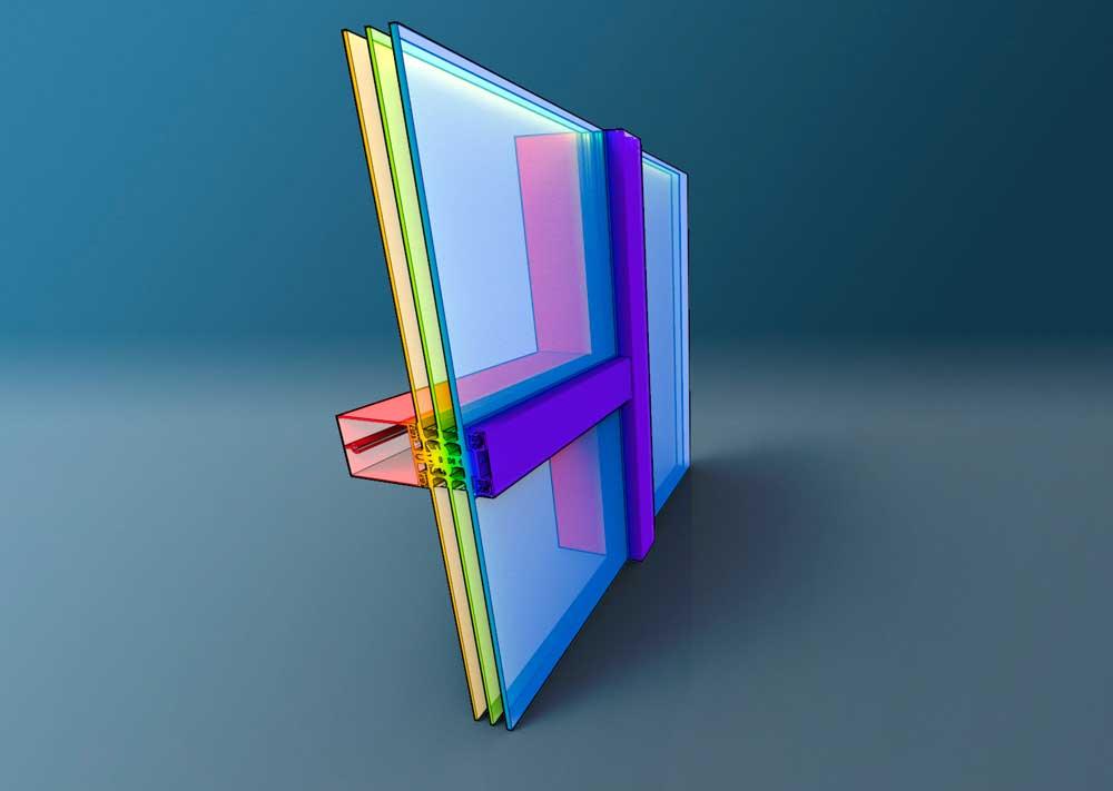 Illustrasjon av vindu