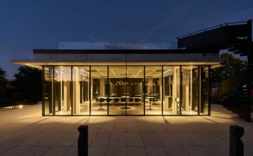 Foto av fasadesystem for glassfasader