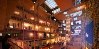 Foto av atrium i The Loop