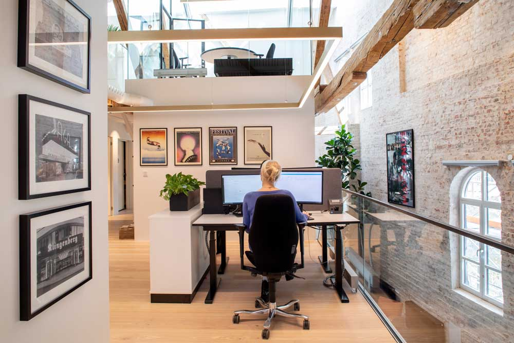 Foto av hovedkontoret til Nordisk Film